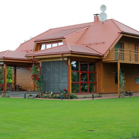ekoloģiska māja