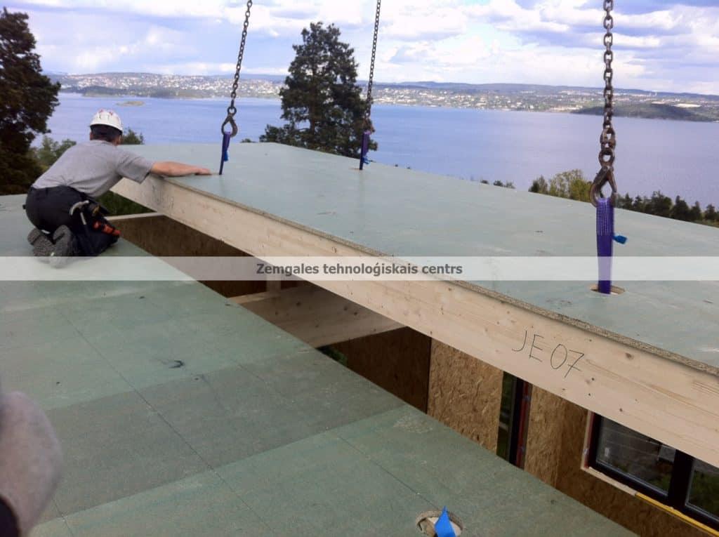 Prefab house assembling   Assembling panelized wood houses