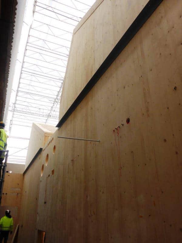 CLT panels
