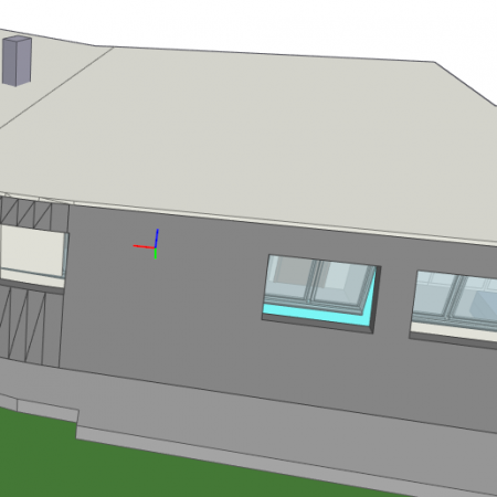 prefab roof extension